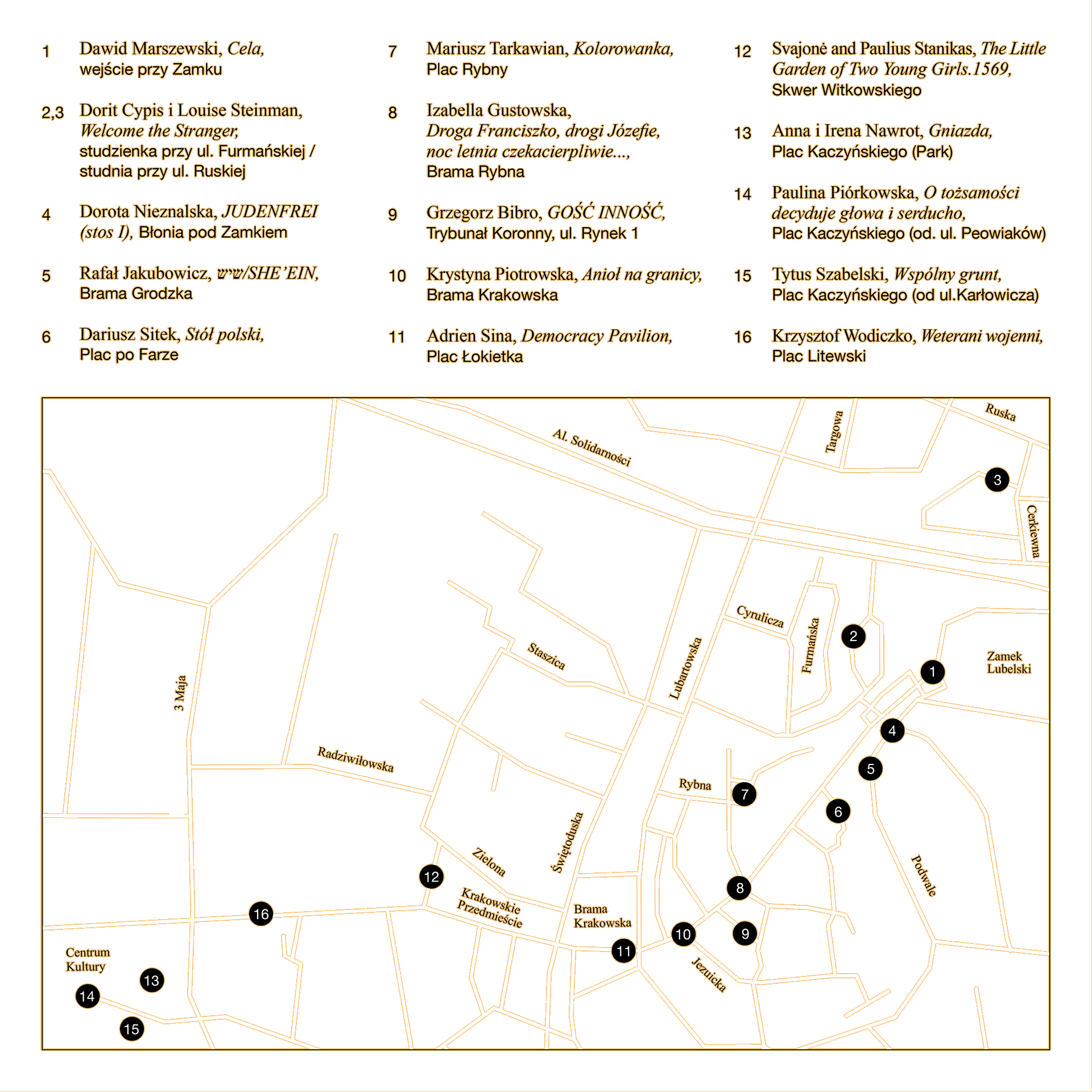 Map Open City 2019